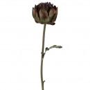 wholesale Artificial Flowers: Branch Artischoke Gigant, length 80cm, diameter 1